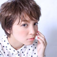 ピュア ナチュラル 外国人風 ショート ヘアスタイルや髪型の写真・画像