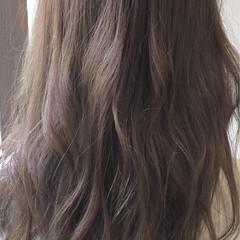 アッシュ ナチュラル ミルクティー 透明感 ヘアスタイルや髪型の写真・画像