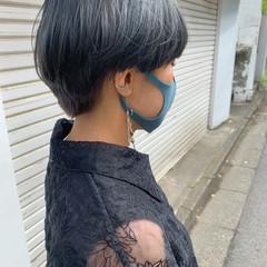 ショート ストリート ショートボブ 夏 ヘアスタイルや髪型の写真・画像