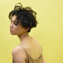 ハンサム マニッシュ モード かっこいい ヘアスタイルや髪型の写真・画像