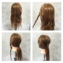 ヘアアレンジ ハーフアップ フェミニン ストリート ヘアスタイルや髪型の写真・画像