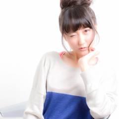 お団子 ヘアアレンジ ショート アップスタイル ヘアスタイルや髪型の写真・画像