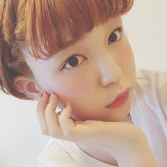 春 女子会 夏 簡単ヘアアレンジ ヘアスタイルや髪型の写真・画像