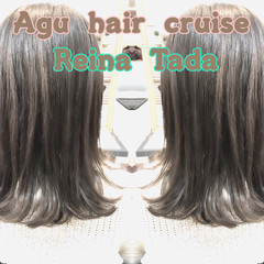 ブルージュ 透明感 外国人風 くすみカラー ヘアスタイルや髪型の写真・画像