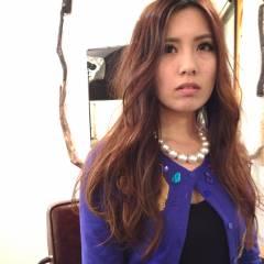 ゆるふわ コンサバ モテ髪 ロング ヘアスタイルや髪型の写真・画像