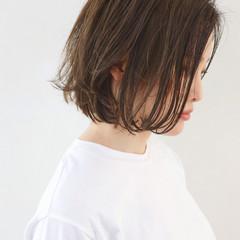 外国人風 ボブ パーマ ウェーブ ヘアスタイルや髪型の写真・画像