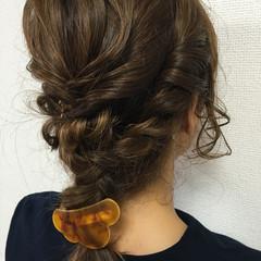 外国人風 簡単ヘアアレンジ 大人女子 ヘアアレンジ ヘアスタイルや髪型の写真・画像