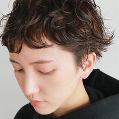 ゆるふわ バレンタイン パーマ 前髪パーマ ヘアスタイルや髪型の写真・画像
