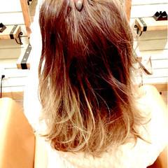 ストリート ピンク 透明感 外国人風 ヘアスタイルや髪型の写真・画像