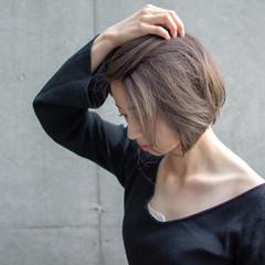 コンサバ オフィス ボブ 女子力 ヘアスタイルや髪型の写真・画像