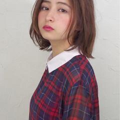 ナチュラル 外国人風 大人かわいい ストレート ヘアスタイルや髪型の写真・画像