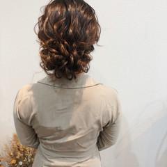ブライダル フェミニン 結婚式 ヘアアレンジ ヘアスタイルや髪型の写真・画像