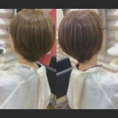 髪質改善トリートメント ショートヘア ショート ベリーショート ヘアスタイルや髪型の写真・画像