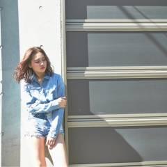 ストリート パンク センターパート 春 ヘアスタイルや髪型の写真・画像