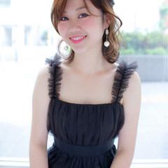 小顔 ピュア コンサバ 似合わせ ヘアスタイルや髪型の写真・画像