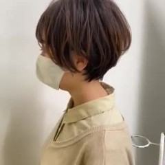 ハンサムショート ショート 小顔ショート ナチュラル ヘアスタイルや髪型の写真・画像