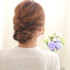 まとめ髪 ショート 簡単ヘアアレンジ ヘアアレンジ ヘアスタイルや髪型の写真・画像