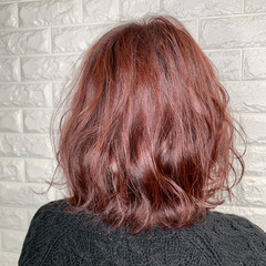 ヘアアレンジ 切りっぱなしボブ ガーリー ボブ ヘアスタイルや髪型の写真・画像
