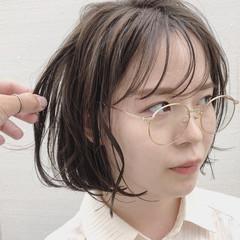 ナチュラル アンニュイ ボブ 抜け感 ヘアスタイルや髪型の写真・画像