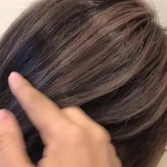 ストリート デザインカラー バレイヤージュ ショート ヘアスタイルや髪型の写真・画像