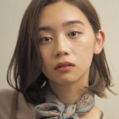 パーマ フェミニン ボブ デート ヘアスタイルや髪型の写真・画像