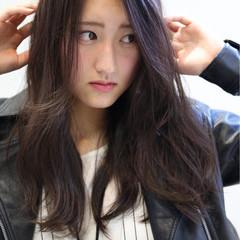 こなれ感 艶髪 小顔 ロング ヘアスタイルや髪型の写真・画像