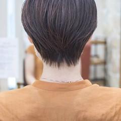 ショートヘア マッシュショート 大人かわいい ショートボブ ヘアスタイルや髪型の写真・画像