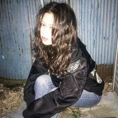 ミディアム ストリート 暗髪 ウェットヘア ヘアスタイルや髪型の写真・画像