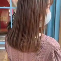 髪質改善トリートメント ナチュラル 縮毛矯正ストカール 縮毛矯正 ヘアスタイルや髪型の写真・画像