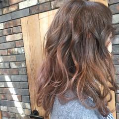 アッシュ グラデーションカラー ストリート ハイライト ヘアスタイルや髪型の写真・画像