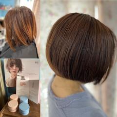 ショートヘア ショートボブ ボブ 髪質改善 ヘアスタイルや髪型の写真・画像