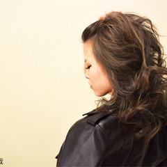 こなれ感 大人女子 セミロング かっこいい ヘアスタイルや髪型の写真・画像