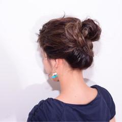 外国人風 ヘアアレンジ 大人女子 簡単ヘアアレンジ ヘアスタイルや髪型の写真・画像