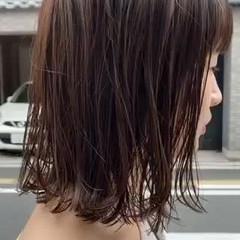 アッシュブラウン ナチュラル イルミナカラー ナチュラルブラウンカラー ヘアスタイルや髪型の写真・画像