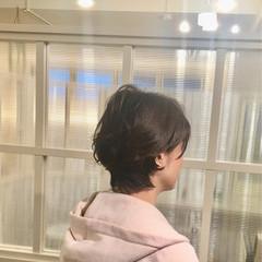 ナチュラル レイヤーカット 福岡市 アウトドア ヘアスタイルや髪型の写真・画像