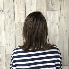 切りっぱなし 秋 ボブ デート ヘアスタイルや髪型の写真・画像