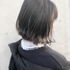 黒髪 デート ボブ 成人式 ヘアスタイルや髪型の写真・画像
