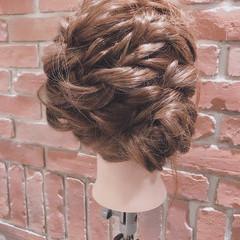 上品 ヘアアレンジ エレガント デート ヘアスタイルや髪型の写真・画像