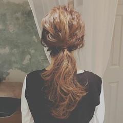 フェミニン 大人かわいい デート ヘアアレンジ ヘアスタイルや髪型の写真・画像