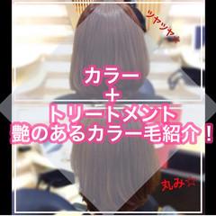 髪質改善トリートメント ナチュラル 大人ロング 髪質改善 ヘアスタイルや髪型の写真・画像