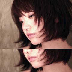 ボブ かっこいい 大人女子 モード ヘアスタイルや髪型の写真・画像