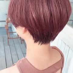 暖色 フェミニン ダブルカラー 似合わせカット ヘアスタイルや髪型の写真・画像