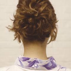 夏 ヘアアレンジ 大人かわいい ナチュラル ヘアスタイルや髪型の写真・画像