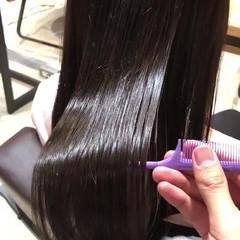 髪質改善トリートメント トリートメント サイエンスアクア 髪質改善 ヘアスタイルや髪型の写真・画像