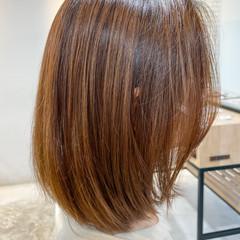 レイヤーカット コンサバ 大人かわいい ボブ ヘアスタイルや髪型の写真・画像