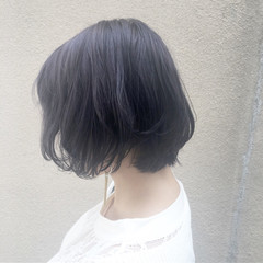 色気 グレージュ ショートボブ ショート ヘアスタイルや髪型の写真・画像
