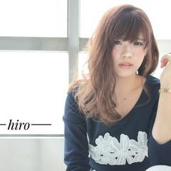 フェミニン ロング 大人かわいい ガーリー ヘアスタイルや髪型の写真・画像