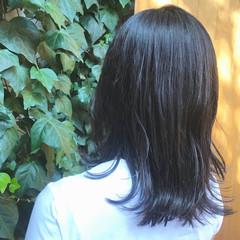 グレージュ ブルージュ 透明感カラー ナチュラル ヘアスタイルや髪型の写真・画像