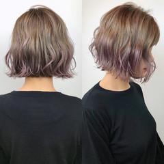 切りっぱなしボブ ショートヘア ミニボブ ショートボブ ヘアスタイルや髪型の写真・画像