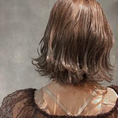 ハイライト 上品 ゆるふわ ヘアアレンジ ヘアスタイルや髪型の写真・画像
